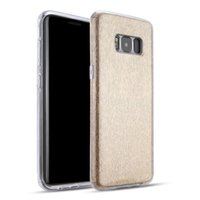 Wholesale Simple Designs Phone Cases - Luxury Bling Glitter Protective Air Cushion Anti-knock Mobile Phone Case For Samsung Galaxy S8 Elegant Simple Design Glitter Phone Cases