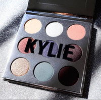 Wholesale Luminous Christmas - Kylie Holiday Edition Eyeshadow The Bur Eyeshadow Palette Bronze Master 9 Colors Shadow Palette Makeup Cosmestic Christmas gift