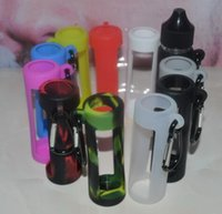 Wholesale Gorilla Case Dhl - silicone carrying sleeve case for 60ml gorilla bottle 2017 new product idears wholesale UK custome silicone pounch for bottle DHL