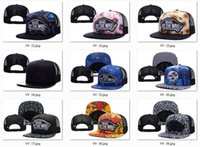 Wholesale Nets Sport Hats - 119 Style Adjustable Men Women Snapbacks Hip Hop Hats Sports Casual Snap Back Baseball Hat Vans Off The Wall Embroidery Net Hat Leopard Star