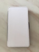 Wholesale Iphone Case For Sublimation - 2D Sublimation blank Leather cover with Magnet and card slot For iphone 7 8 100pcs