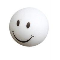 Wholesale smiling faces lamps - Wholesale- Colorful Novelty Lamp Changing Color LED Energy Night Light Magic Round Smile ALI88