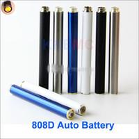 Wholesale Electronic Cigarette Auto Batteries - Auto 280mah 808d-1 battery for kr808d-1 e-cigarettes or DSE901 Electronic cigarettes 280mah auto 808d-1 battery wholesale online
