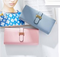 Wholesale Wall Compartments - Factory wholesale handbag fashion more screens brand purse Lovely quality leather woman holding purse trend with large capacity leather wall
