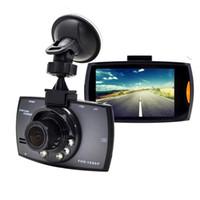 versteckte bewegung video großhandel-G30 Novatek 96620 Auto Dvr Fahrzeug DVR Dash Cam Full HD 1080 P LCD Camcorder Fahrzeug Schutz Kamera Nachtsicht Recorder 8082