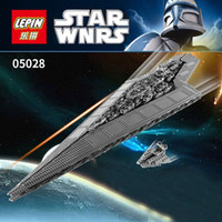 Wholesale Super big Lepin Star Wars Super Star Destroyer Executor anime Building block model toys for children Christmas