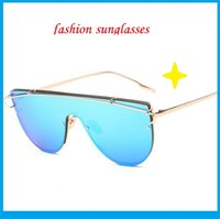 Wholesale Contact Frames - Fashion Contact Lens Sun Glasses A Variety Of Polarizing Big European And American Street Shooting Glasses Trendsetter Gls206
