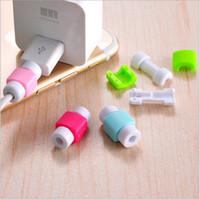 ingrosso nota mini usb-Cavo USB Cuffie auricolari proteggi connettore porta protettiva Mini cover custodia per Iphone 4 5 6 7 Plus per Samsung Note 7 LETV Huawei