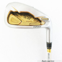 Wholesale golf clubs for sale - New Golf Clubs irons set HONMA S star Golf irons set Aw Sw Golf irons Graphite Clubs shaft R Flex