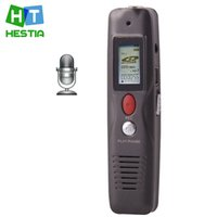Wholesale Vor Recording - Wholesale-VM89 Professional 8GB Ultra Clear Recording Audio LCD Digital Voice Recorder Long Record Time About 40 Hours VOR With MP3 Player