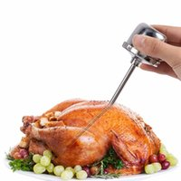 Wholesale Stainless Steel Manual Turkey Barbecue Sauce Syringe Needle Meat Seasoning Injector Chicken Steak BBQ Tools
