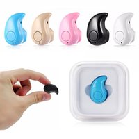 Wholesale Tiny Wireless Bluetooth - New Super Mini S530 Bluetooth Earphones Wireless Bluetooth Headset Tiny Single Handsfree Earphone Wireless Mini Earbud for Sport