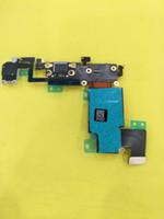 carga del muelle iphone 5s al por mayor-Flex Cable para iPhone 5 5s 5c 6 plus 6s 7 plus Dock Connector Puerto de carga USB y cinta de audio para auriculares Flex Ribbon