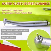 Wholesale Dental Denist Fiber Optic Handpiece High Speed E generator Holes Air Turbine
