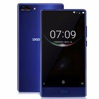 Wholesale Digital Camera Lens Phone - Doogee Mix Mobile Phone Android 7.0 5.5'' HD 4GB 6GB RAM 64GB ROM 8MP+16MP Dual Rear lens Octa Core Fingerprint Smartphone