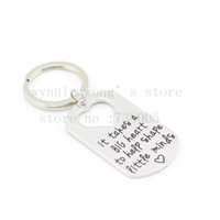 "Wholesale Necklaces Big Hearts Pendant - Wholesale-2015 Teacher's Jewelry Teacher Gifts "" It Takes a BIG Heart to Help Shape Little Minds"" Silver Pendant Necklace Dog Tag Keychain"