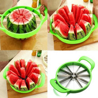 Wholesale Tools Cut Fruit - New Watermelon Cutter Kitchen Cutting Tools Watermelon Slicer Fruit Cutter Watermelon Divider Tool Kitchen Fruit Free Shipping
