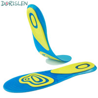 Wholesale Silicon For Shoes - Silicon Gel Insoles Plantar Fasciitis Heel Spur Shock Absorption Pads For Men And Women