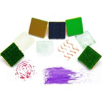 Wholesale Pattern Stamp Tool - Wholesale- 1PCS 7cm Children's toy sponge Cute Pattern Decoration seal drawing Brush Rubber stamp lawn painting graffiti tools safe art