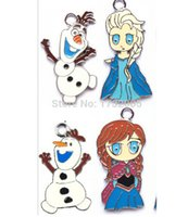 Wholesale Snowman Gifts Make - Wholesale snowman DIY Metal pendants Charms Jewelry Making Gifts btie7