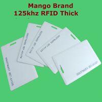 Wholesale em cards resale online - Proximity EM ID RFID khz Smart Thick ID Card Mango Brand Access Control System High Quality Free Shipment