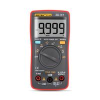 Wholesale ZT109 Palm size True RMS Digital Multimeter counts Square Wave Backlight AC DC Voltage Ammeter Current Ohm Auto Manual