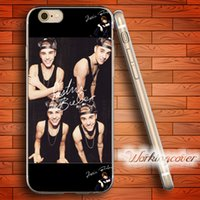 Wholesale Iphone Bieber - Capa Justin Bieber Sign Soft Clear TPU Case for iPhone 6 6S 7 Plus 5S SE 5 5C 4S 4 Case Silicone Cover.