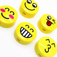 Emoji Portable Cartoon Stereo Mini Bluetooth Speaker Subwoofer sem fio Lovely Smile Faces Mp3 Player de música Suporte TF Card Voice Control