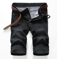 Wholesale Men Shorts Pants Legging - 2017 new designer brand shorts jeans for men,straight leg, short pants basic style, size 28 to 40