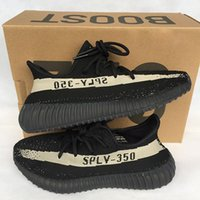 Wholesale Cream Colour Boots - hot sale 2017 Boost 350 V2 Bred Zebra New SPLY-350 mens shoessneakers women 350 boost Running Shoes Kanye West 10 colour sport shoes