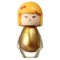 милый акриловый ноготь оптовых-7 мл серебро золото милый ребенок кукла акриловые Неон ногтей польский дизайн Моды маникюр Яркий декор блеск лак красоты FB03