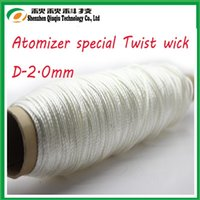 Wholesale Silica Glass Wick - Wholesale- most popular high silica wick glass fiber wick ekowoolTwist wick for e cig!3KG,DHLfree shipping!!