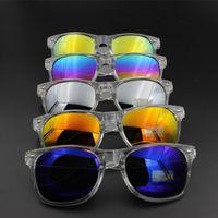 Wholesale Newest Design Sunglasses - Newest Design Sunglasses for men women Fashion multicolor Spring Summer sun glasses Unisex High quality brand sunglasses for Beach