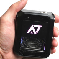 Wholesale Water Cooler Box - Authentic 3500mah Stentorian AT-7 Box MOD 100W Inspired from water-cooled system Glam Metal design with brass tube presents symbol of egois