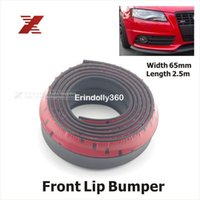 Wholesale 2 M Roll Car Styling TPVC Front Lip Skirt Protector Multi Deflector Front Bumper Strip Car Scratch Proof Adhesive Strips