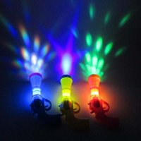 Wholesale Wholesale Small Toy Guns - 2017 new trumpet light projection small pistol hot toy flash projector gun wholesale material plastic free shipping