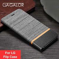 Wholesale lg nexus phone case - GAGALOR Luxury Filp Case For LG G5 G6 V20 Mini LG Nexus 5X 6P Stand Leather Phone Bag