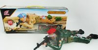 Wholesale Soldier with gun Special Force ActionFigures with Flash and Sound
