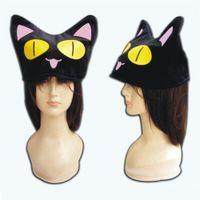 Wholesale comfortable winter hats men - Wholesale- Athemis Winter Hot Sale Cap Lovely Animal Cat Shape Women Girls Hats Warm and Comfortable