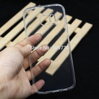 Wholesale Iphone4 Flat - Thin Flat Transparent Case Elegant High Quality For iPone 6 6S 6Plus 7 7Plus Coque For iPhone4 5s 5c 5SE For Samsung case