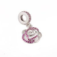 Wholesale Silver Heart Jewelry Factory Direct - Factory Direct Sale Sparkly Micro Pave Pendant Fine Silver Jewelry Pendant Charm for Necklace Accessories ICPS012 Size 24*13.2mm