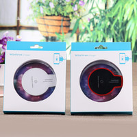 mini pad mobile phone NZ - Hot Sale Luxury Qi Wireless Charger Charging Pad Mini for Universal smart mobile phone etc US02 DHL Free shipping