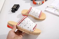 Wholesale White High Heel Slippers - 2017Cloth slippers Lady Brand Flats Shoes Summer Slippers Leather Non-slipping Sole High Quality Original Package (Dust Bag,Gift Box) #511C1