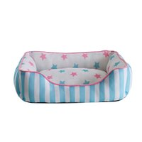 Wholesale Pet X Mat - High Quality Blue  Pink 55*40cm Soft Warm Dog Bed Kennel House Pet Puppy Cat Nest Mat Pad 55cm x 40cm M Size
