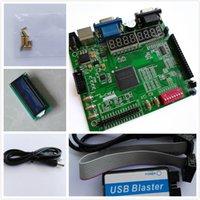 Wholesale Fpga Altera Board - Freeshipping A-C4E10 EP4CE10E22C8N+ USB BLASTER+LCD1602 altera fpga board altera board altera fpga development board