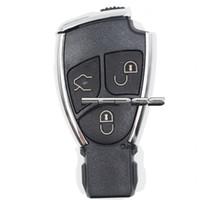 mercedes benz uzaktan kumandalı anahtarı toptan satış-Modifiye Yeni Akıllı Uzaktan Anahtar Shell Kılıf Fob 3B Mercedes-Benz CLS C E S