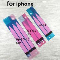 cep telefonları için elma çıkartmaları toptan satış-Cep telefonu Pil Isı Dağılımı Yapışkan Bant Şerit Sticker Apple iPhone 5 s 5c iPhone 6 için 4.7 inç 6 artı 5.5