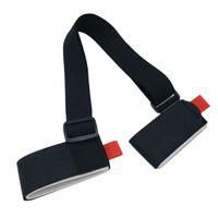 Wholesale Ski Boards - New Adjustable Ski snowboard easy backpack cross country Ski Pole Shoulder Hand Carrier Lash Handle Dual Board Strap bag Black
