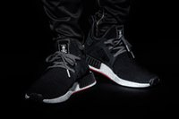 Cotton Fabric sport masters - 2017 NMD XR1 runner Mastermind Japan X mmj master mind boost Primeknit PK black men women Running Shoes Sports Shoes sneakers Size
