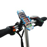 Wholesale cell phone clamp mount for sale – best Cell Phone Bike Phone Mount Holder Bicycle Motorcycle Handlebar Mount Clamp for iphone Plus Smartphone GPS